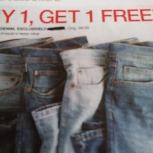 Buy One Get ONE FREE items priced $20 or less